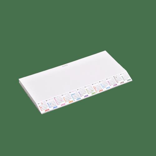 ななめもーるカレンダー(メモ型)